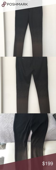 Neil Barrett men's Pants . Size 46it-us-29-30. Neil Barrette super skinny fit regular rise men's pants . Size 46 it in this brand USA should be btw 29-30 waist .color ombré from dark brown to light brown . Made in Italy 🇮🇹. 90% virgin wool,8%polyamide,2%elastane . Please do not hesitate to ask questions or additional photos . Thank you Neil Barrett Pants Dress