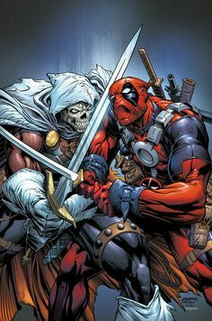I know Wolverine Vs Deadpool threads been done many times in the past.But I always want see a thread where Deadpool is serious and doesn't have C Marvel Comic Character, Marvel Comic Books, Comic Book Characters, Marvel Characters, Comic Books Art, Comic Art, Comic Pics, Book Art, Marvel Dc Comics