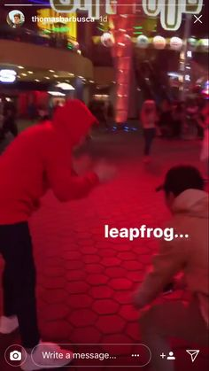 He just wanted a leap frog 🐸