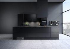 Modern Kitchen Cabinets, New Kitchen, Kitchen Decor, Modern Kitchen Tables, Modern Kitchen Design, Küchen Design, House Design, Cocinas Kitchen, Scandinavian Kitchen