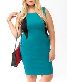 Calvin Klein has a dress similar to this out this season, and it looks fabulous with a fitted blazer or a blazer with a peplum trim at the waist.