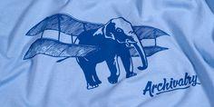 Archivalry's Aero Elephant T-shirt