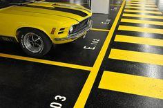 Yellow Submarine #parking #Switzerland (by quietview | Flickr)