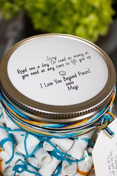40 365 Jar Ideas Jar Mason Jars Boyfriend Gifts