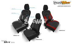 SARUNG JOK SEATWEAR HONDA BRV (Only The Braver)  Rp. 3.500.000  Untuk Pemesanan bisa datang langsung ke Dealer Honda terdekat atau bisa menghubungi sales kami :  Sales Representative 1 (Putra Ahen) HP : 082298191580 BB : 5C65B0AE  Sales Representative 2 (JhuJhu) HP : 085777810007 BB : 5AAE4C2D  www.seatwear.co.id info@seatwear.co.id  SEATWEAR | CHOOSE YOUR STYLE