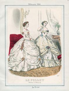 Le Follet, February 1, 1866