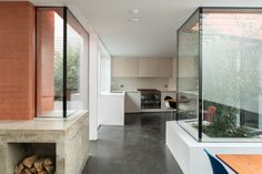 This wonderfully engaging three-bedroom house with courtyard garden is positioned at the end of a quiet residential terrace near Peckham Rye Park. Designed by 31/44 Architects for Arrant Land, Red House was completed in 2017. The building has a striking form and the red-brick façade acts as a contemporary appropriation of materials used in the surrounding Victorian […]