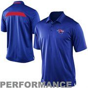 6b4279c0b Nike Louisiana Tech Bulldogs 2013 Sideline Coaches Performance Polo - Royal  Blue $64.95 Louisiana Tech,