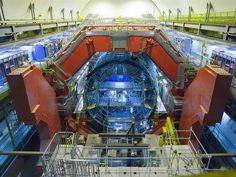 LHC's ALICE Experiment at the LHC studies heavy-ion collisions in search of a quak-gluon soup similar to the state of the early universe.