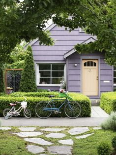 Home with bikes. (Emily Johnston Anderson)