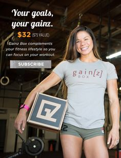 The Gainzbox | Curated CrossFit products delivered to your doorstop every month.