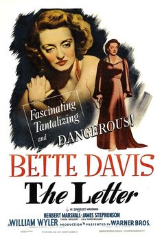 The letter (Ombre malesi, 1940)