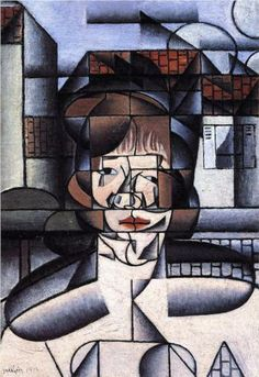 Juan Gris (1887 - 1927)   Analytical Cubism   Portrait of Germaine Raynal - 1912