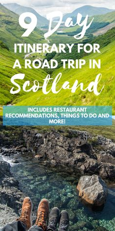 Read our Travel Itinerary for a 9 day Road Trip in Scotland for inspiration for your road trip through Glasgow, Glencoe, Isle of Skye and Edinburgh. Scotland Travel Guide, Scotland Road Trip, Scotland Vacation, Europe Travel Tips, Ireland Travel, Travel Destinations, Travel Trip, Hiking In Scotland, Honeymoon In Scotland