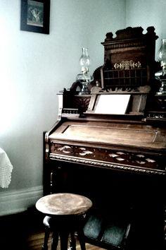 Old church piano