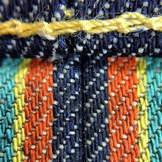 a macro of edwin´s Rainbow Selvage