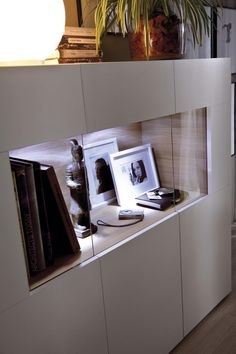 Media Furniture, Living Furniture, Rooms Furniture, Muebles Living, Buy Furniture Online, Luz Led, Building A New Home, Classic Furniture, Shelving