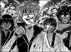 Gintama. Sakamoto Tatsuma, Katsura Kotaro, Takasugi Shinsuke, Sakata Gintoki