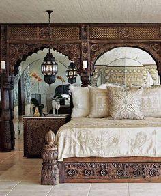 Rajasthani Style Bedroom