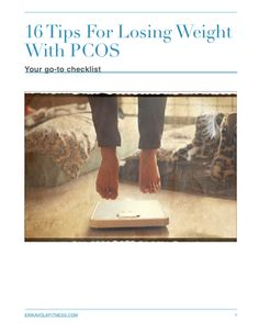 These 16 simple tips for losing weight with PCOS. Managing your PCOS does not have to be expensive! All 16 of these tips are free and easy to learn!