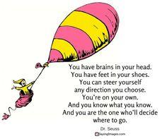 40 Favorite Dr. Seuss Quotes To Make You Smile #sayingimages #drseussquote #drseuss