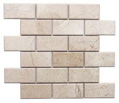Love our gorgeous marble! Marble Mosaic, Mosaic Tiles, Mosaics, Beautiful Textures, Santorini, Backsplash, Natural Stones, Tile Floor, Catalog