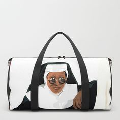 SISTER ACT Duffle Bag by ludovicainnocenti | Society6
