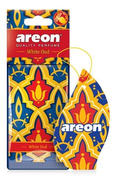 Areon WHITE OUD-Aρωματικό δεντράκι αυτοκινήτου MO03 Auto Accessories, Tweety, Perfume, Car Accessories, Fragrance