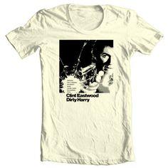 Dirty-Harry-T-shirt-Clint-Eastwood-retro-1970s-Good-Bad-Ugly-4XL-5XL-cotton-tee