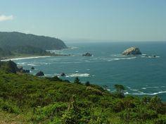 the northern california coast -