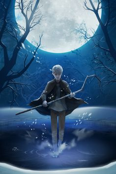 A fine picture of Jack Frost from the movie Rise of the Guardians.