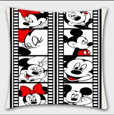 Disney Mickey Minnie photo lovely pillow cushon soft anime gift fashion for sale online Mickey E Minnie Mouse, Mickey Love, Mickey Mouse And Friends, Walt Disney, Disney Art, Disney Pixar, Disney Fanatic, Disney Addict, Disney Images