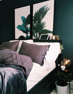 Turn your bedroom into a sleep sanctuary Bedroom Inspo, Bedroom Wall, Master Bedroom, Bedroom Decor, Bedroom Ideas, Bedroom Modern, Monochrome Bedroom, Bedroom Photos, Bedroom Carpet