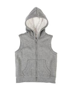 Hooded Sherpa Gilet