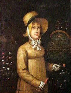 1817 D. Leopoldina na Ilha da Madeira by ? (Museu Histórico Nacional, Rio de Janeiro Brazil)   Grand Ladies   gogm