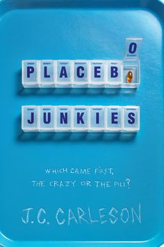 Book Cover Design Placebo Junkies - J.C. Carleson