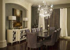 Elegant Dining Room - modern - dining room - toronto - Beyond The Stage Homes