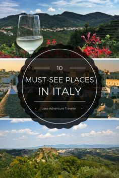 We lived in Italy for 7 years. These are the places we tell our friends you must see in Italy - and they aren't Rome, Venice and Florence.
