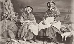 """""""Fishwives from Newlyn in Cornwall, circa 1875."""" Photograph: Sean Sexton/Hulton Archive/Getty Images"""