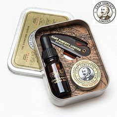 Captain Fawcett is delighted to have collaborated with the World renowned Dandy & Gentleman about town Mr Ricki Hall in assembling this extremely useful 'Booze & Baccy' Beard & Moustache. Beard Grooming, Men's Grooming, Moustaches, Fawcett, Ricki Hall, Shaving Trimmer, Straight Razor Shaving, Shaving Tips, Bay Rum