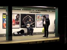 MOUNTAIN ANIMATION: Midwesterners-turned-Brooklyn-residents Zack Orion and Scott Murphy make up this awesomely energetic banjo-playing, drumming and fiddling duo. You can spot them all over the city, but they're at their best when they take over the Metropolitan G stop. They each do their thing on either side of the tracks, sending the music reverberating through the station. And these two aren't just subway stars, either; Mountain Animation plays shows all over the city!