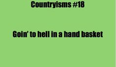 countryisms