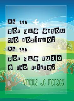 Garota de Ipanema, Vinicius de Moraes
