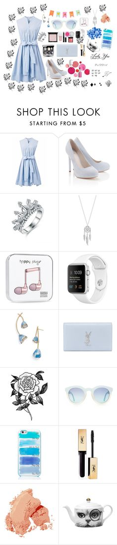 """""""It is the start of the spring, not the end"""" by mysticsjy on Polyvore featuring Chicwish, Lipsy, Lucky Brand, Tory Burch, Yves Saint Laurent, Forever 21, Kate Spade, Bobbi Brown Cosmetics, Givenchy and Clinique"""