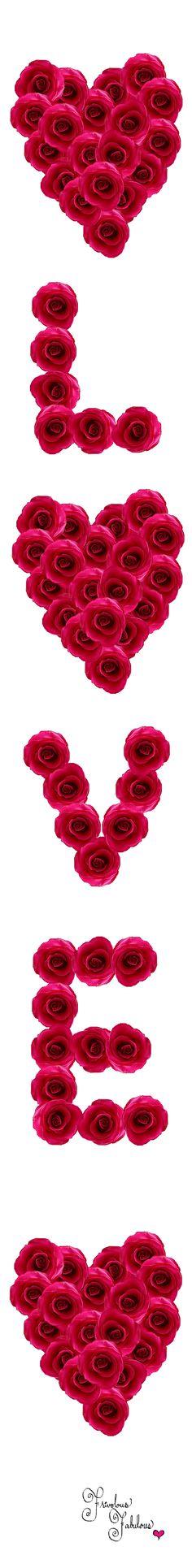 Frivolous Fabulous - Hearts Roses and Love I Love You All, What Is Love, Hearts And Roses, Red Roses, Rose Bonbon, Love Days, Happy Vibes, Thinking Day, Happy Valentines Day