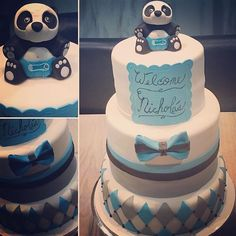 images of panda baby shower cakes - Google Search