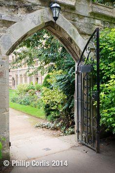 What lies beyond: Oxford, England.
