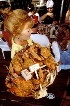 Crabs, it's what Maryland does best. @ Crisfield Crab House