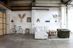 Industrial 1920s warehouse style