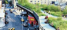 Park infrastructure! Converted from an abandoned elevated railway to promote health through design...